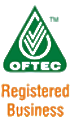 We are Registered with OFTEC